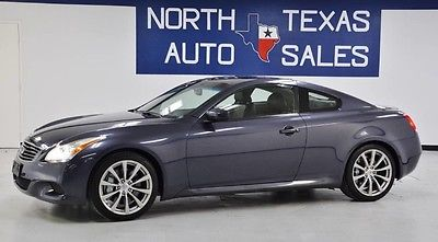 2009 Infiniti G37 Sport 2009 Infiniti G37 Coupe Sport Athens Blue Coupe Automatic