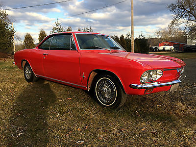 1966 Chevrolet Corvair Standard 1966 Chevrolet Corvair Monza A/C car. Rebuilt motor, new interior Beautiful car