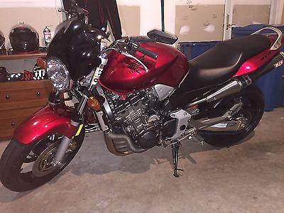 2007 Honda CB 2007 Honda CB919 Hornet