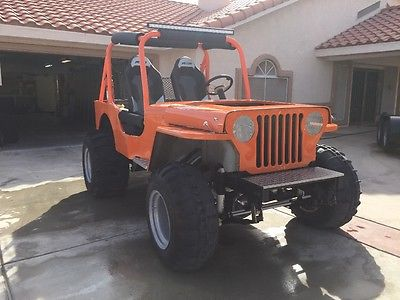 1949 Willys CJ3a  Willys Jeep
