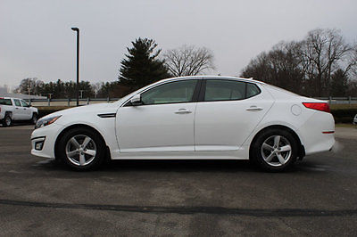 2014 Kia Optima 4dr Sedan LX 4dr Sedan LX Automatic Gasoline 2.4L 4 Cyl WHITE