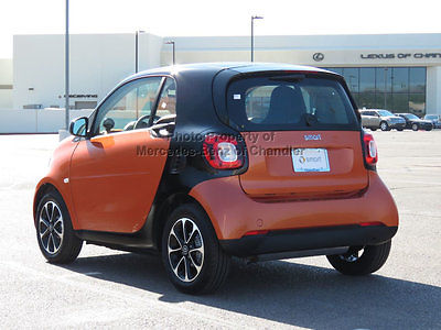 2016 smart Fortwo 2dr Coupe Passion 2 dr coupe passion new manual gasoline 1.0 l 3 cyl lava orange metallic