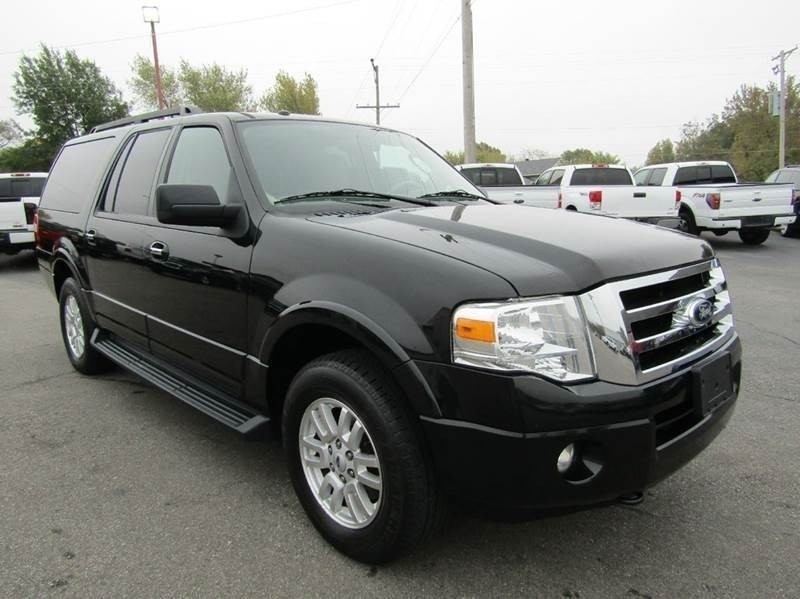 2012 Ford Expedition EL XLT 4X4 2 OWNER 3RD ROW NEWER TIRES SUNROOF