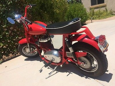 1962 Other Makes  1962 Mustang Motorcycle