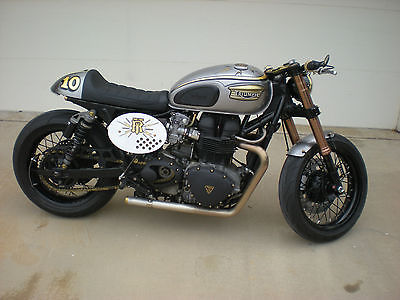 2005 Custom Built Motorcycles Bonneville  Custom 2005 Triumph Bonneville built by Analog Motorcycles