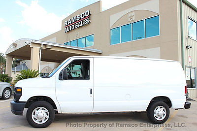 2012 Ford E-Series Van E-150 Commercial 2012  FORD E-150 CARGO W/ PARTITION CRUISE CONTROL RUNS GREAT FREE SHIPPING