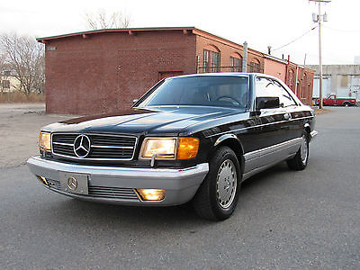 1987 Mercedes-Benz 500-Series Coupe 1987 Mercedes 560 SEC Coupe C126