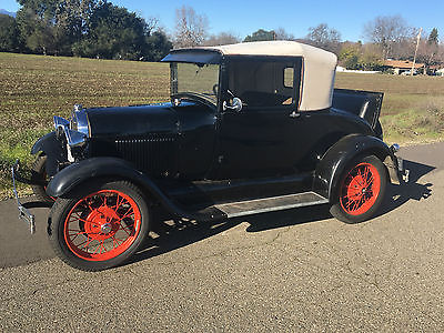 1929 Ford Model A DeLuxe  1929 Ford Model A Original Rumble Seat, 1928,1929,1930