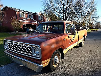 1974 Dodge Other Adventurer 1974 Dodge D200 Adventurer