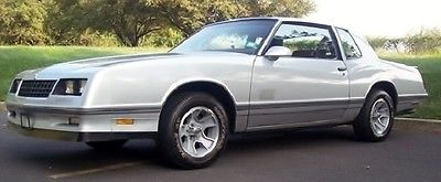 1987 Chevrolet Monte Carlo ss 1987 SS Monte Carlo 30000 miles Exceptional
