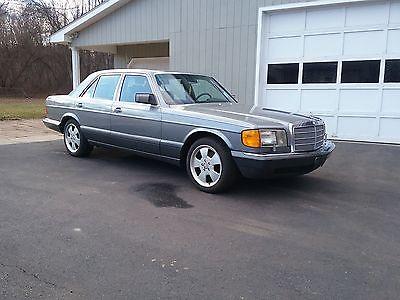 1989 Mercedes-Benz 300-Series Se 1989 mercedes benz 300se low mileage rust free