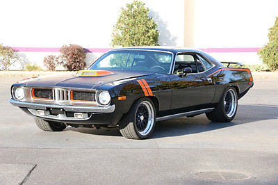 1973 Plymouth Barracuda Barracuda CUDA Pro Touring 1973 Plymouth Barracuda Pro-Touring NASCAR MOTOR ! Ernie Elliott 800 HP