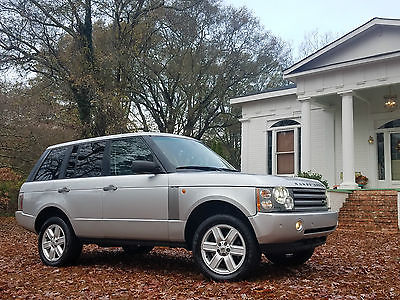 2005 Land Rover Range Rover 4x4 HSE NAV 1 OWNER TWIN DVD PREM AND COLD PKG 4x4 HSE NAV 1 OWNER TWIN DVD PREM AND COLD PKG ORIG PAINT 2006 2007 2008 2009