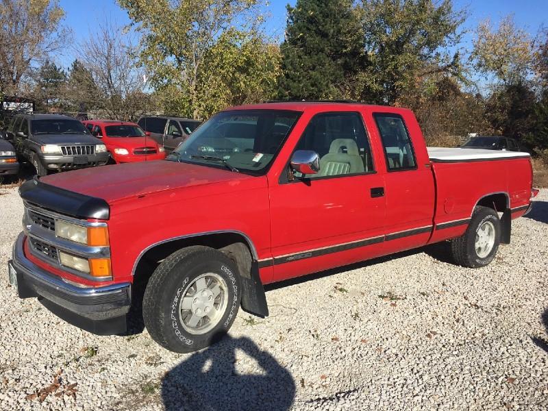 1994 Chevrolet C/K 1500 Ext Cab 141.5 WB
