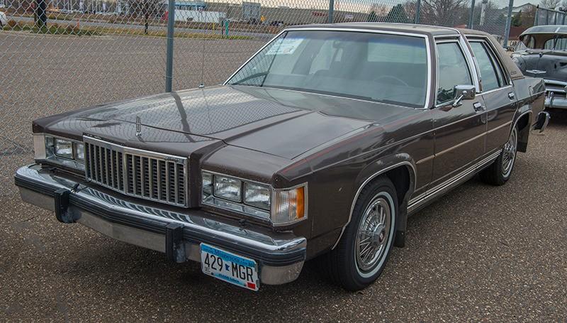 1985 Mercury Grand Marquis LS 4 Door Sedan