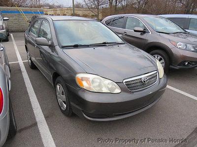 2006 Toyota Corolla 4dr Sedan CE Automatic 4dr Sedan CE Automatic Automatic Gasoline 1.8L 4 Cyl GRAY