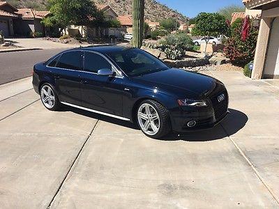 2011 Audi S4 Premium plus 2011 audi s4 Premium plus 6speed
