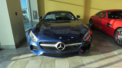 2017 Mercedes-Benz AMG GT AMG GT Coupe AMG GT Coupe New 2 dr Automatic Gasoline 4.0L 8 Cyl Brilliant Blue