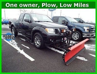 2012 Nissan Frontier Pro 4x 4x4 poly plow low miles! extended cab 2012 Nissan Frontier PRO-4X 4x4 plow low miles! extended cab v6