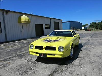 1976 Pontiac Trans Am -- 1976 Pontiac Trans Am - Rare Color, Numbers Matching, Working A/C