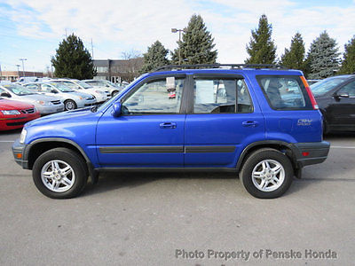 2001 Honda CR-V 4WD EX Manual 4WD EX Manual 4 dr SUV Manual Gasoline 4 Cyl Electron Blue Pearl