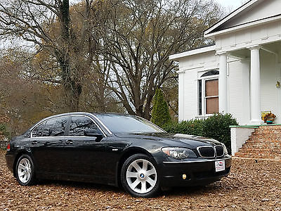 2006 BMW 7-Series 750li ONE OWNER NO ACCIDENTS NO PAINTWORK ALL SERV 750li ONE OWNER NO ACCIDENTS NO PAINTWORK ALL SERVICE COMPLETED 2007 2008 2009