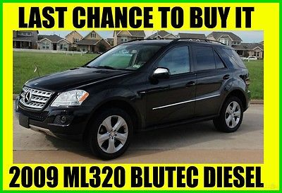 2009 Mercedes-Benz M-Class BLUTEC ~ DIESEL ~ AWD ~ STOCK# 497239 2009 ML320 BlueTEC 4MATIC DIESEL,NAVIGATION,BACKUP CAMERA,CLEAN TITLE,FINAL SALE