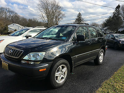 2002 Lexus RX Base Sport Utility 4-Door 2002 Lexus RX300 loaded Sport Utility 4-Door 3.0L
