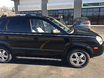 2008 Hyundai Tucson  2008 Hyundai Tucson, GLS Sport Utility 4D, Manual 5-speed Transmission