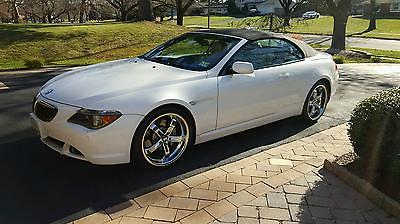 2007 BMW 6-Series  2007 BMW 650i Convertible 50k miles