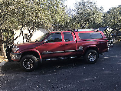 2000 Toyota Tundra SR5 R5 less than 100,000 miles with shell