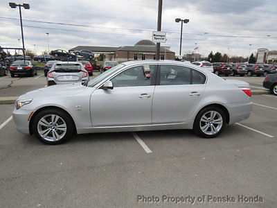 2010 BMW 5-Series 528i xDrive 528i xDrive 5 Series 4 dr Sedan Manual Gasoline 3.0L STRAIGHT 6 Cyl SILVER