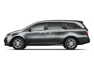 2012 Honda Odyssey 5dr EX-L w/Navi 5dr EX-L w/Navi Low Miles 4 dr Van Gasoline 3.5L V6 Cyl GRAY