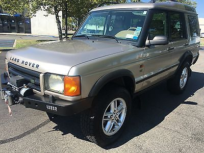 2002 Land Rover Discovery  2002 Land Rover Discovery Series 2