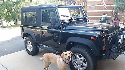 1995 Land Rover Defender  1995 Land Rover Defender D90 Black