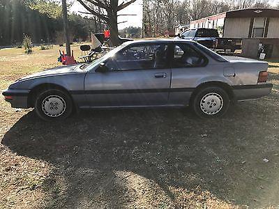 1989 Honda Prelude  Honda Prelude