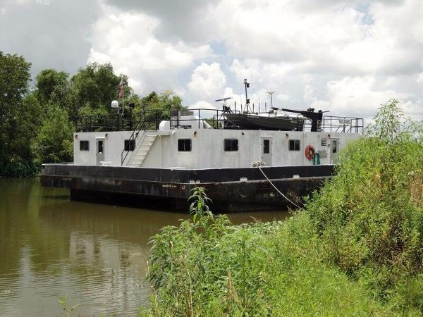 2005 Halimar Shipyard Push Boat / Barge Combo