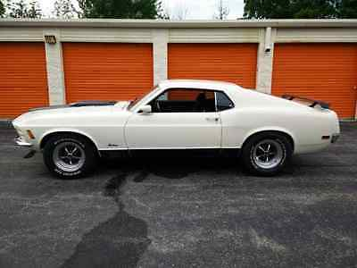 1970 Ford Mustang 1970 MUSTANG MACH 1