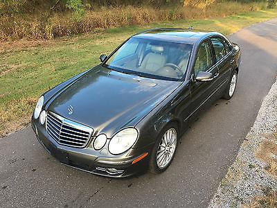 2008 Mercedes-Benz E-Class 4 DR Sedan 2008 Mercedes Benz E350 Grey ~ 71K  Very Nice
