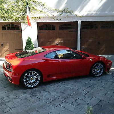 2004 Ferrari 360 Modena Coupe 2-Door 2004 Ferrari 360 Modena Coupe 2-Door 3.6L GATED / MANUAL / TRUE SIX SPEED