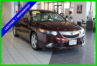 2012 Acura TSX 4DR SDN I4 AT 2012 4DR SDN I4 AT Used 2.4L I4 16V Automatic FWD Sedan Premium