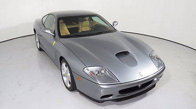 2002 Ferrari 575 2dr Coupe F1 2002 FERRARI 575M  MARANELLO F1 ONLY 2K MILES VERY NICE CAR SERVICED HERE