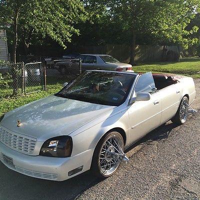 2001 Cadillac DeVille Base cadillac Deville custom convertible