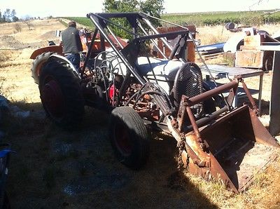Ford 9N Loader Tractor