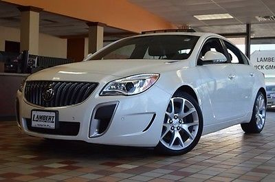 2014 Buick Regal GS 2014 Buick Regal GS 29349 Miles White Diamond Tricoat 4D Sedan 2.0L 4-Cylinder D