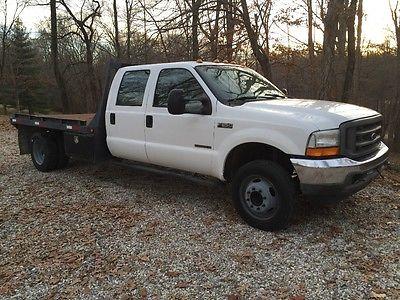 2001 Ford F-550 XL 2001 Ford F550 7.3L Diesel Crewcab Flat Bed