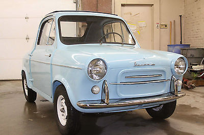 1960 VESPA 400 AIR COOLED 2 CYLINDER 2 STROKE NO TITLE