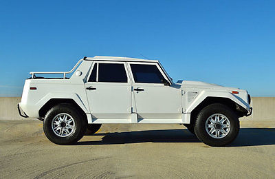 1990 Lamborghini LM 1990 LAMBORGHINI LM 001 1990 LAMBORGHINI LM 001 RAMBO LAMBO CHEAPEST AROUND RECENTLY SERVICED LOW MILES