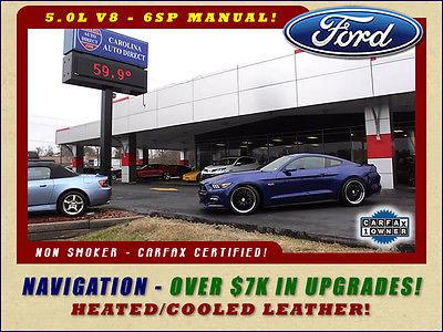 2016 Ford Mustang GT Premium - NAVIGATION - $7K IN UPGRADES! AMERICAN RACING HEADERS-MAGNAFLOW-20