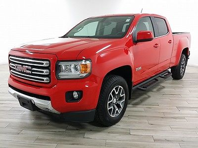 2015 GMC Canyon SLE Crew Cab Pickup 4-Door 2015 Crew Cab SLE Longbed Used Automatic 6-Spd 4WD Red